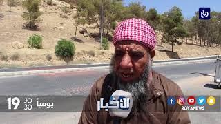 طريق العين البيضا في محافظة الطفيلة تفتقر لعناصر السلامة العامة - (4-9-2017)