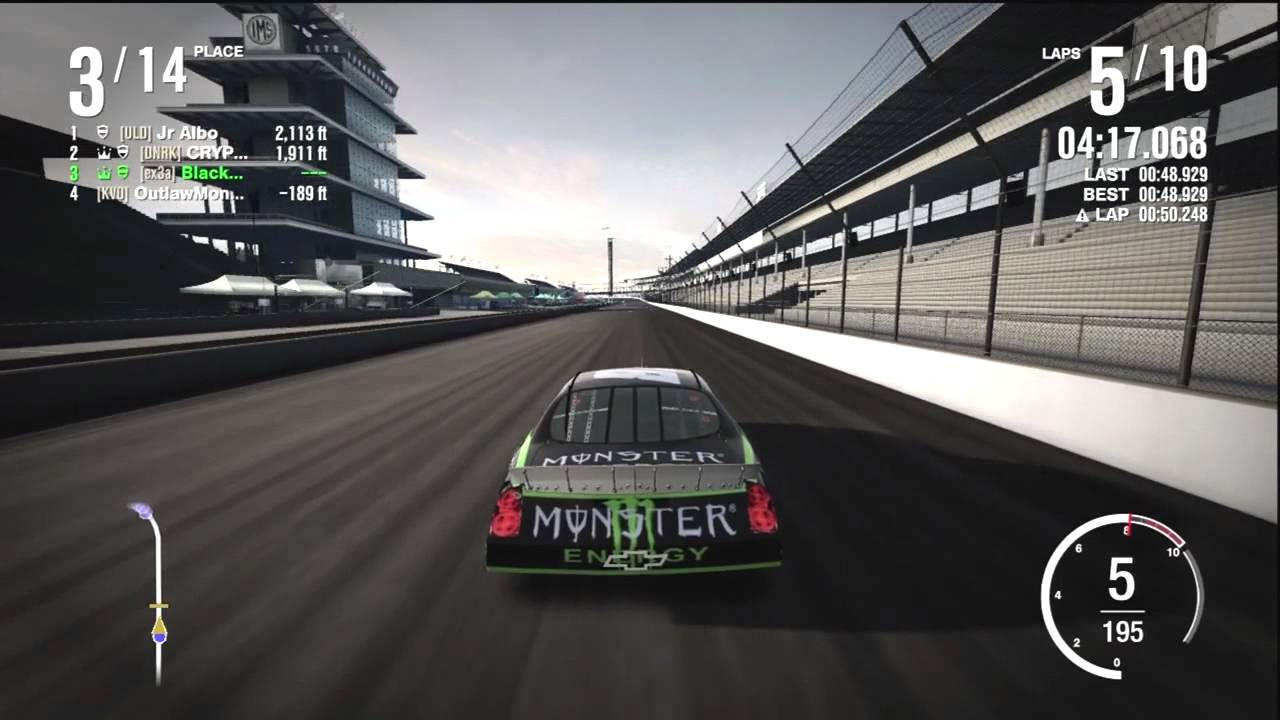 Ss Monte Carlo >> Forza Motorsport 4 - NASCAR Online Gameplay - YouTube