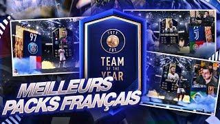 LES MEILLEURS PACKS FRANÇAIS DURANT LA TOTY ! - FIFA 19
