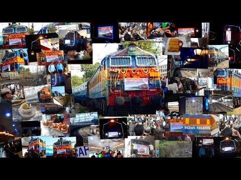 12124-12123 PUNE-MUMBAI-PUNE DECCAN QUEEN 85 BIRTHDAY CELEBRATION AT PUNE & CSTM FULL