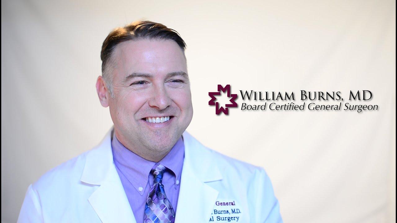 William H. Burns, MD FACS - YouTube
