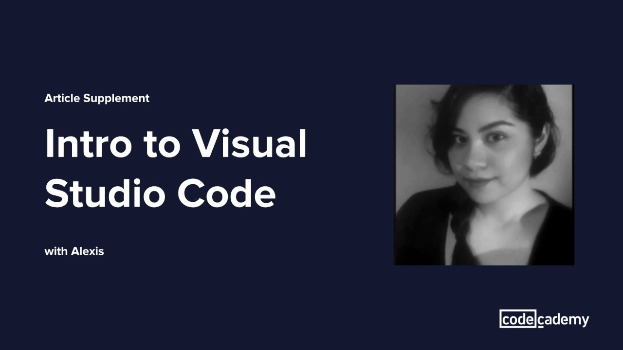 Getting Started with Visual Studio Code and Building HTML
