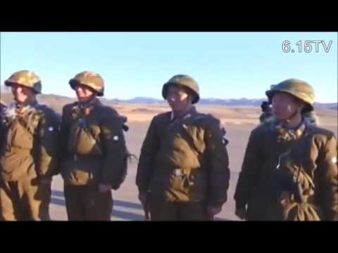 North Korean Army Recoilless Gun Firing Contest, Kim Jong Un Guides