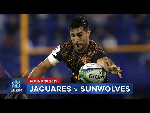 Jaguares V Sunwolves | Super Rugby 2019 Rd 18 Highlights