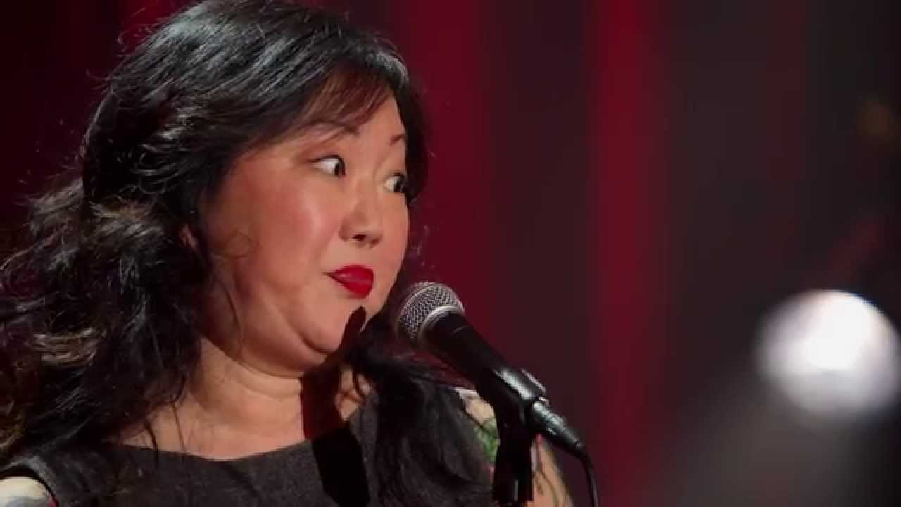 female Asian comedian