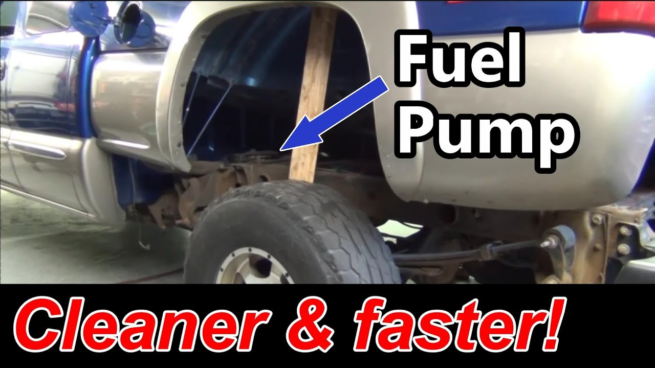 gmc fuel pump swap  [ 1280 x 720 Pixel ]