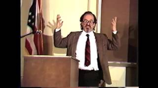 David Horowitz - Ashland University Library Discussion - Ashbrook Center - November 11, 1991