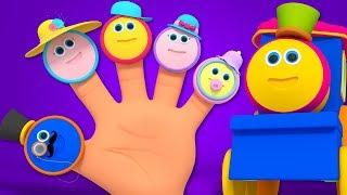 Bob Zug Finger Familie   Kinderreime für Kinder   Bob Train Finger Family   Kids Tv Deutschland