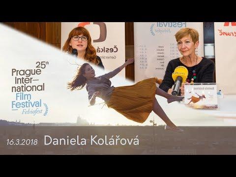 Daniela Kolářová | Tisková konference MMF Praha - Febiofest 2018