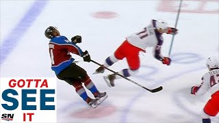 GOTTA SEE IT: Nick Foligno Ejected After Headshot On Pierre-Edouard Bellemare