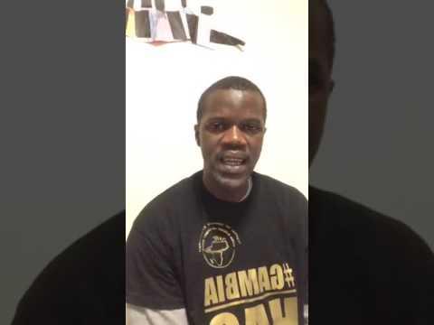 Yahya Jammeh Is A Fugitive