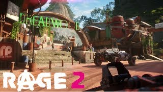 Rage 2 NEW & EXCLUSIVE Raw Gameplay - THE WILDS