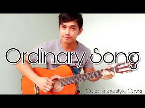 (+Tutorial) Ordinary Song - Guitar fingerstyle - Marc Velasco