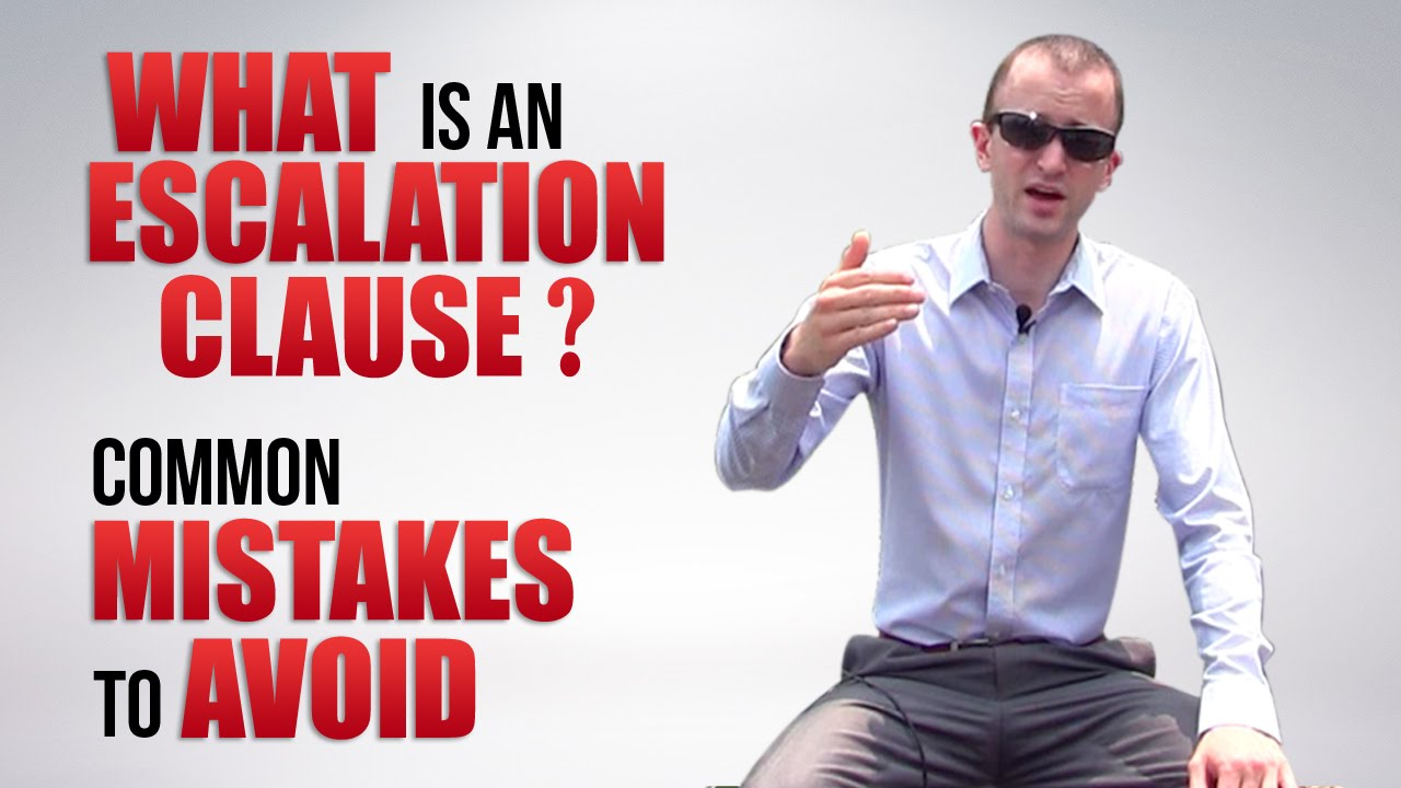 What is an Escalation Clause? | Escalation Clause Real Estate ...