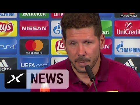 Diego Simeone vergleicht Pep Guardiola und Carlo Ancelotti | Atletico Madrid - FC Bayern München