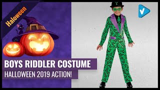 Top 10 Boys Riddler Costume 2019 Halloween Collection