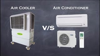 Difference Between Air Cooler & Air Conditioner | Woking of Air Cooler & Air Conditioner
