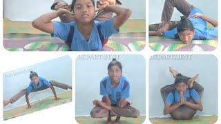 Amiksha swaero yoga  fitindia karimnagar yoga#FITINDIAKARIMNAGAR