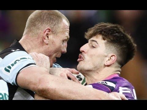 NRL Highlights: Melbourne Storm v Cronulla Sharks - Round 22