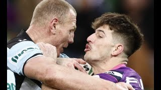 NRL Highlights: Melbourne Storm v Cronulla Sharks - Round 22