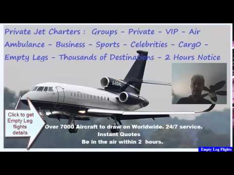 Private Plane | Empty Leg Flights | Save up to 70% on your Private Jet Charter