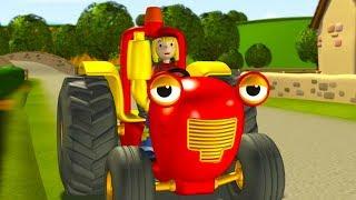 Tracteur Tom  🚜 À la Ferme 🚜 Dessin anime pour enfants | Tracteur pour enfants