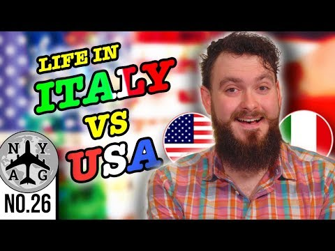Vivere in Italia come un ragazzo americano all'estero