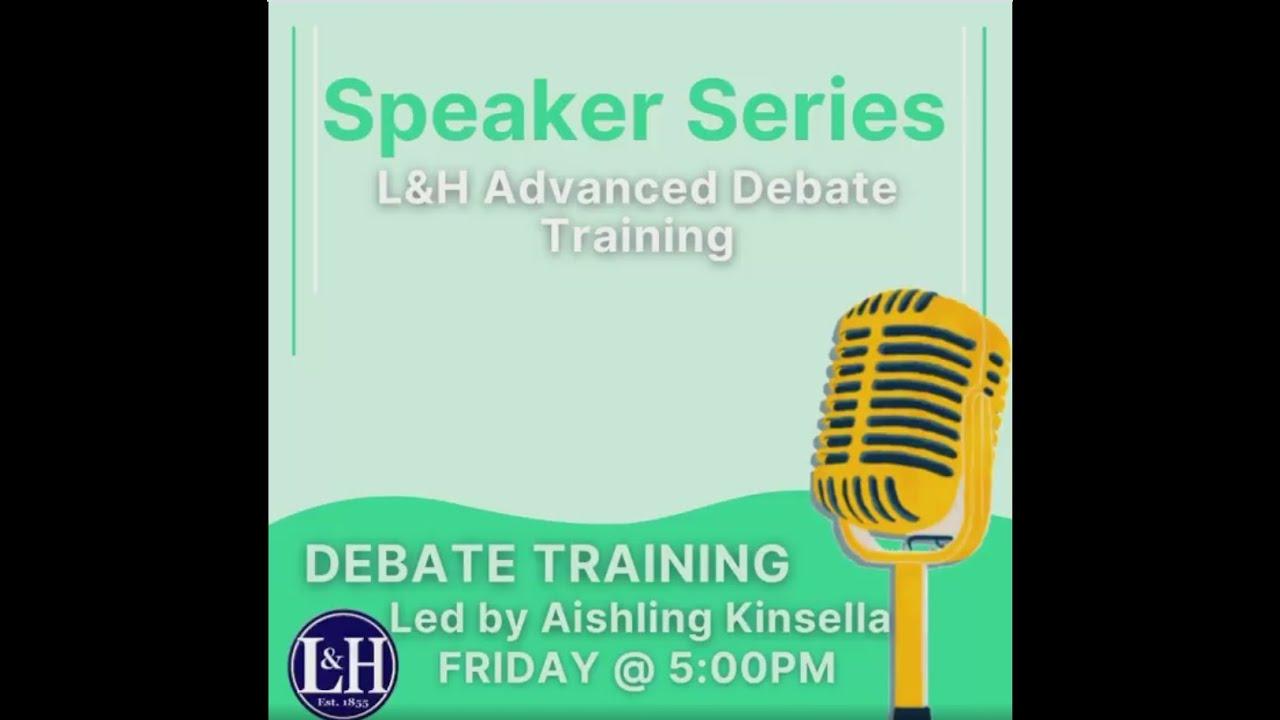 Aishling Kinsella L&H Speaker Series