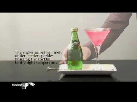 Vodka Sorbet by Perrier