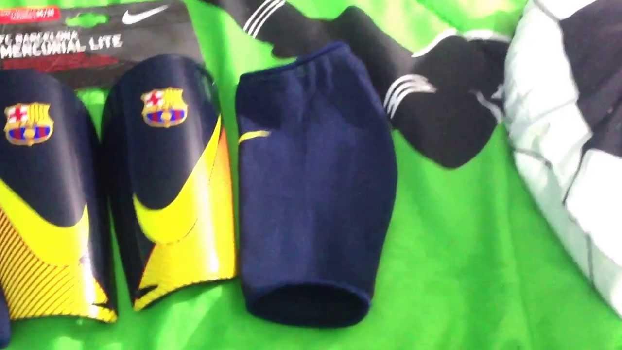 Unboxing FC BARCELONA MERCURIAL LITE - YouTube c95cc5b6a57b5