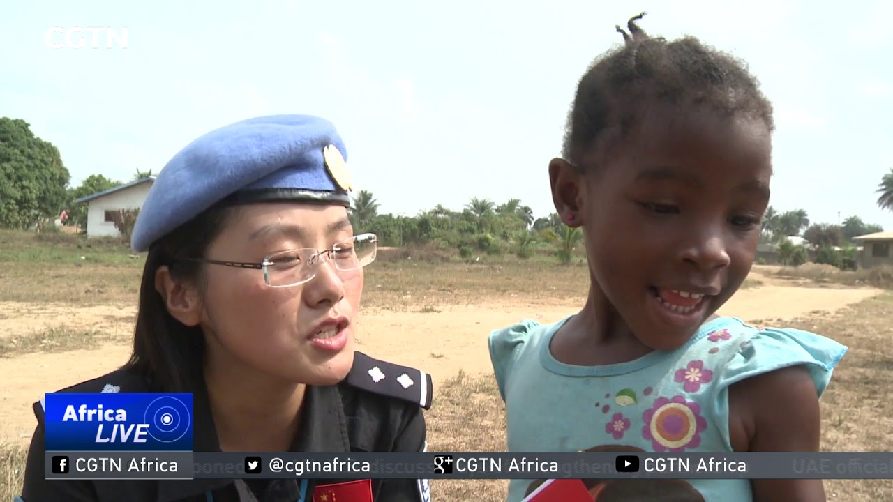Liberia: Women stationed with the Fifth China Formed ...