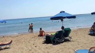 Пляж в городке Фалираки, Родос. Faliraki beach, Rhodes, 2014(У нас есть блог, в котором много статей о путешествиях, разных странах и городах, а также, много фотографий..., 2016-04-07T20:58:58.000Z)
