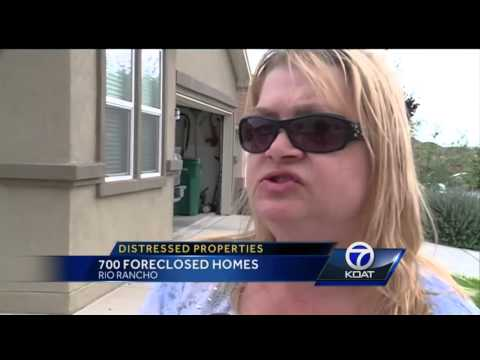 700 Rio Rancho homes either foreclosed, abandoned