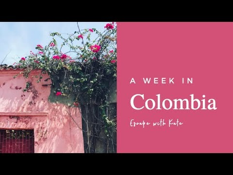 A week in Colombia