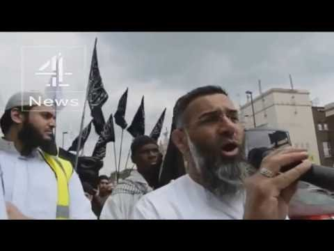 Anjem Choudary: hate preacher convicted on terror offence