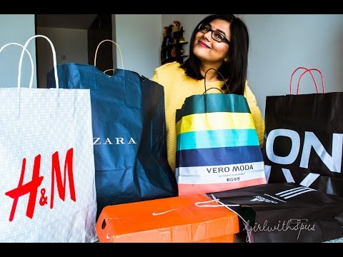 Shopping Haul - DLF Mall of India, Noida (H&M, Zara, Vero Moda, Only and others)