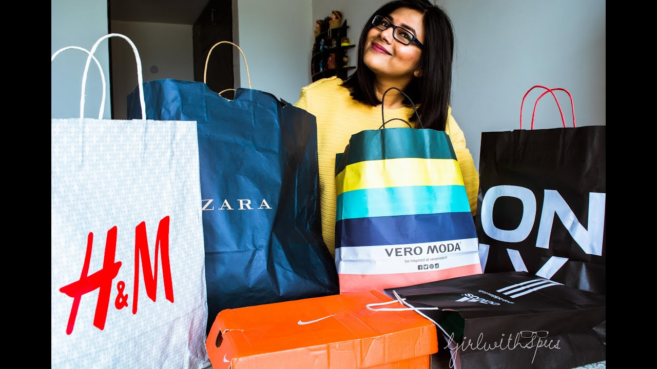 80c7c2f6e Shopping Haul - DLF Mall of India, Noida (H&M, Zara, Vero Moda, Only and  others)