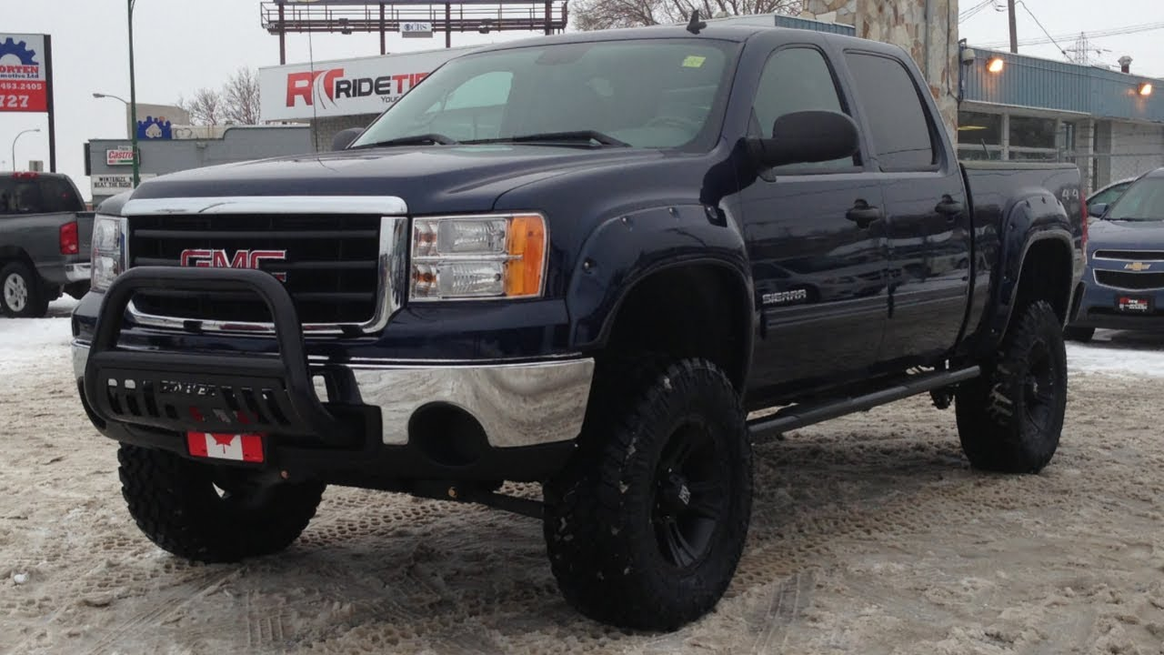 Custom Lifted 2011 GMC Sierra 1500 - Ride Time - Winnipeg ...