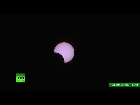 Eclipse anular solar parcial es visible en partes de África y Océano Índico