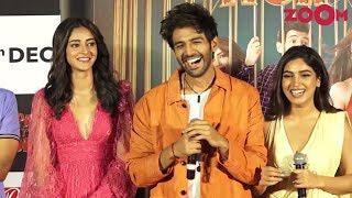 Pati Patni Aur Woh trailer launch | Kartik Aaryan, Ananya Panday & Bhumi Pednekar | Bolly Quickie