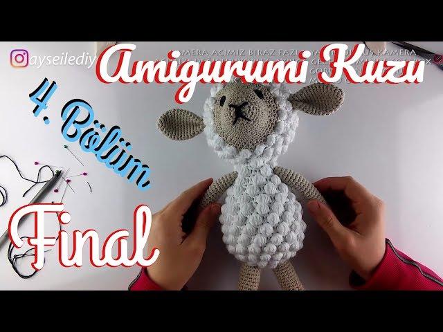 Amigurumi Kuzu Nasıl Yapılır 1.Bölüm - Pıtırcıklı Kuzucuk Kafa ... | 480x640