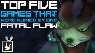 Top Five Games That Were Ruined by One Fatal Flaw - rabbidluigi