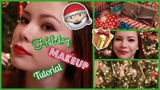 Holiday Makeup Tutorial! | MissKyleesBeauty Thumbnail