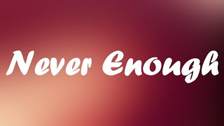 Play Never Enough