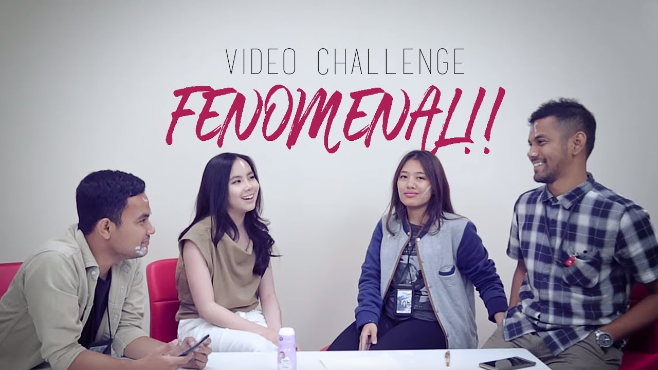 VIDEO CHALLENGE FENOMENAL!! MAKAN WAKTU EDIT 1 TAHUN