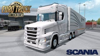 This is review about Euro Truck Simulator 2 Mods ====================================================== Mods: Scania S New Gen Tcab V1 by Azorax Modding https://ets2.lt/en/scania-s-new-gen-tcab-v1/  MB AeroDynamic Trailer by AM https://forum.scssoft.com/v