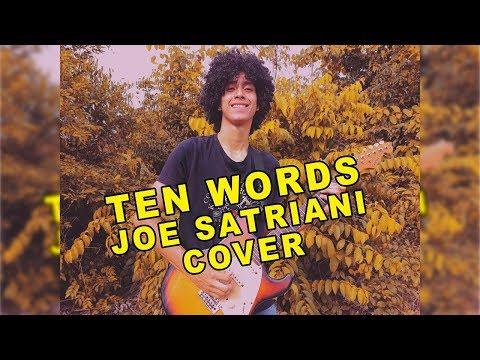 TEN WORDS - JOE SATRIANI - COVER BY IGOR SILVA