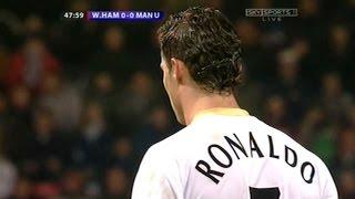 Cristiano Ronaldo Vs West Ham Away (17/12/2006)