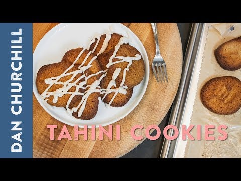 Gluten-Free Tahini Cookies