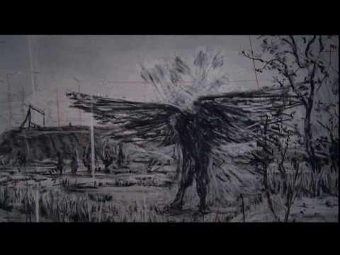 Schubert: Winterreise (Die Krähe) - Matthias Goerne/Visualized by William Kentridge